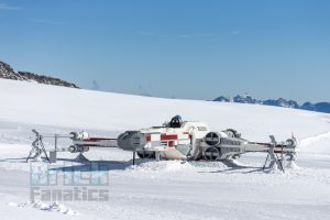 LEGO Star Wars X wing Swiss Alps 9