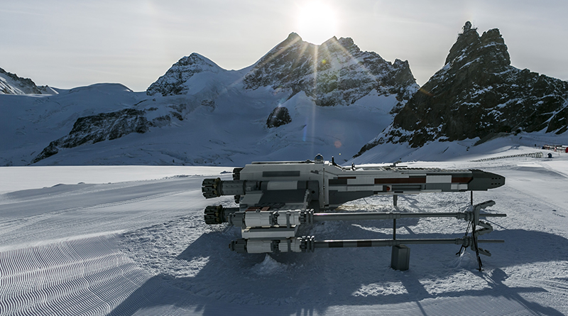 LEGO Star Wars X wing Swiss Alps featured 800 445