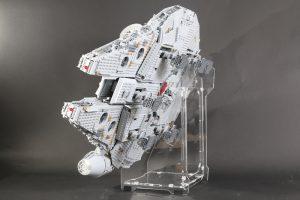 IDisplayit Brick Fanatics Magazine 75192 Millennium Falcon Display Stand Review 25 300x200