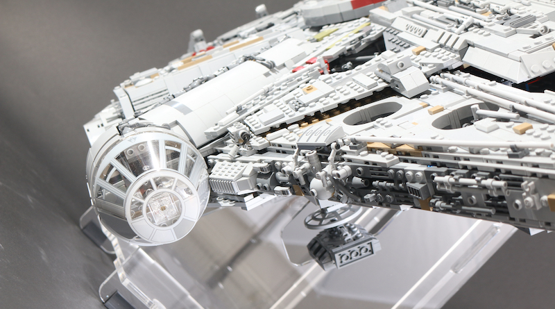 IDisplayit Brick Fanatics Magazine 75192 Millennium Falcon Display Stand Review Title