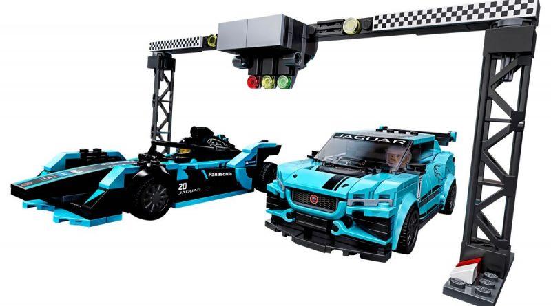 76898 Lego Speed Champions Jaguar Racing 2020 Inhalt 800x445