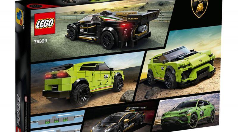 76899 Lego Speed Chapions Lamborghini Urus Huracan 2020 Box Back 800x445