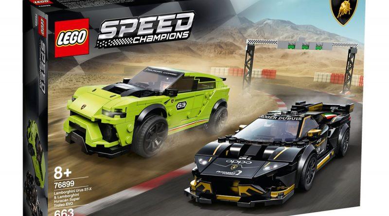 76899 Lego Speed Chapions Lamborghini Urus Huracan 2020 Box Front 800x445
