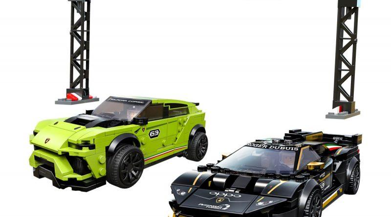 76899 Lego Speed Chapions Lamborghini Urus Huracan 2020 Inhalt 800x445