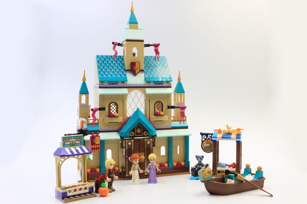 Lego Disney Frozen Ii 41167 Arendelle Castle Village Review