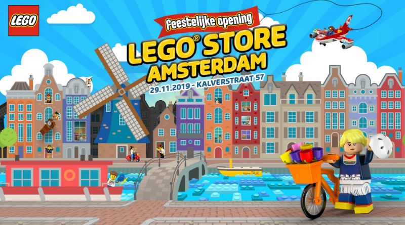 Amsterdam LEGO Store Featured