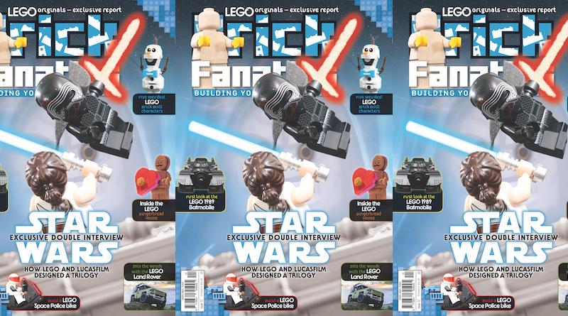 Brick Fanatics Magazine Issue 12 Cover Title