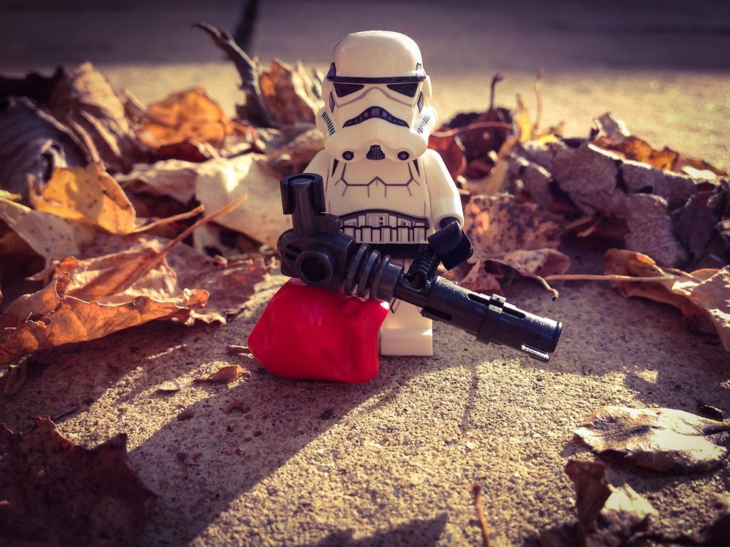Brick Pic Autumn Stormtrooper