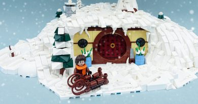 Hobbit LEGO winter