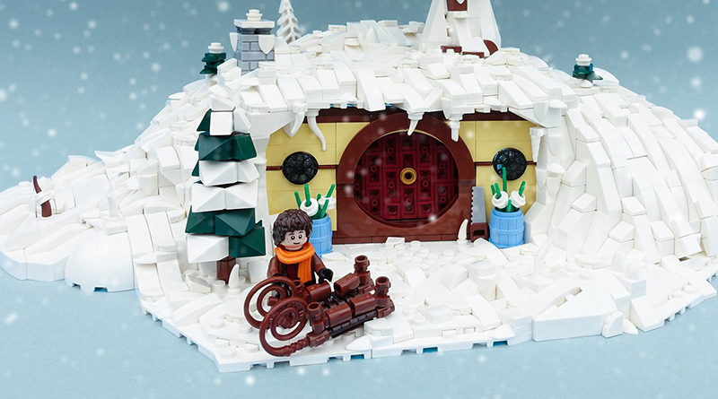 Hobbit LEGO winter