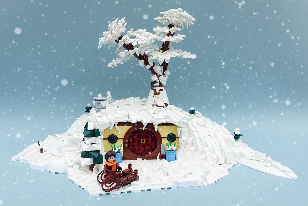 Brick Pic Winter Hobbit