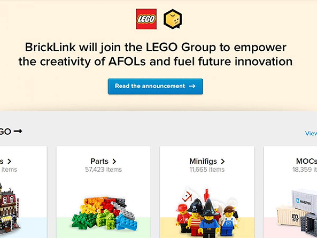 The LEGO Group encourages BrickLink users to 'ask me anything'