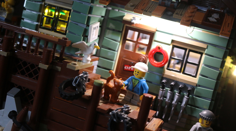 Elegant Bricks Brick Fanatics Magazine Old Fishing Store Review Title