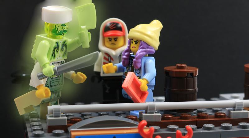 LEGO Hidden Side 70422 Shrimp Shack Attack