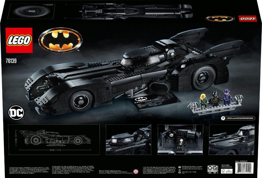 LEGO Batman 76139 1989 Batmobile 32