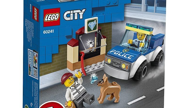 LEGO City 60241 Police Dog Unit 1 780x445