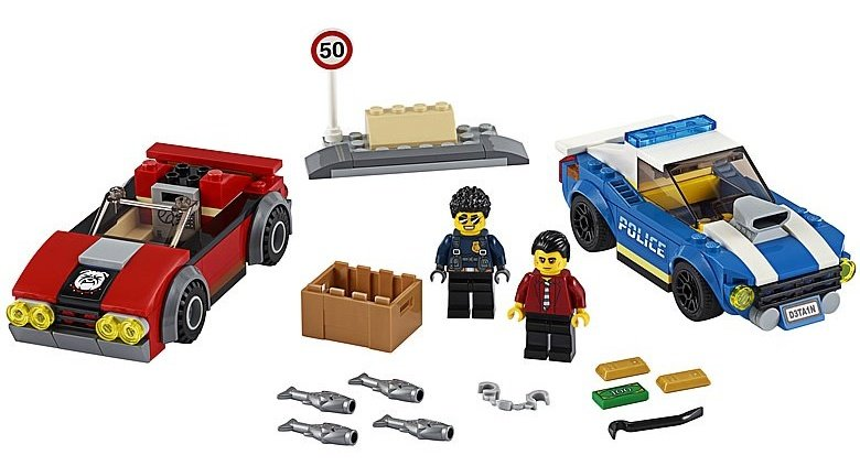 LEGO City 60242 Police Highway Arrest 3