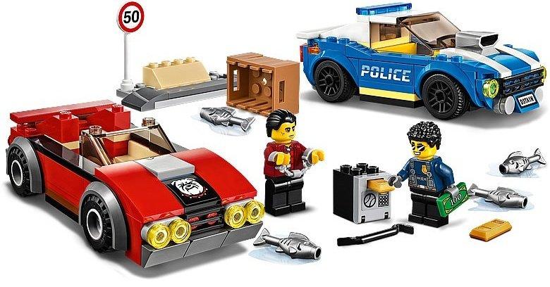 LEGO City 60242 Police Highway Arrest 4