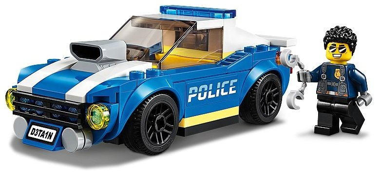 LEGO City 60242 Police Highway Arrest 5