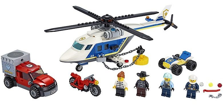 LEGO City 60243 Police Helicopter Chase 3