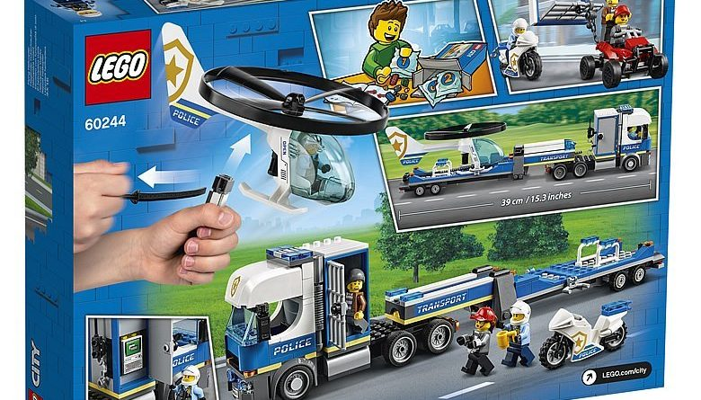 LEGO City 60244 Police Helicopter Transport 2 780x445