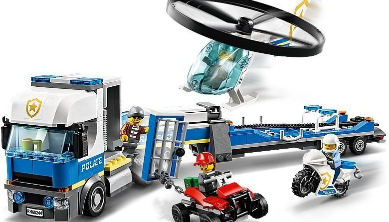 LEGO City 60244 Police Helicopter Transport 4 780x445