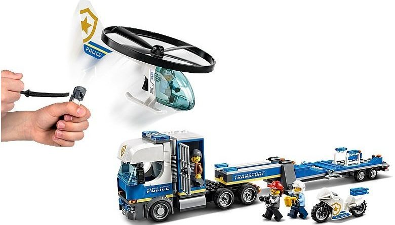 LEGO City 60244 Police Helicopter Transport 5 780x445