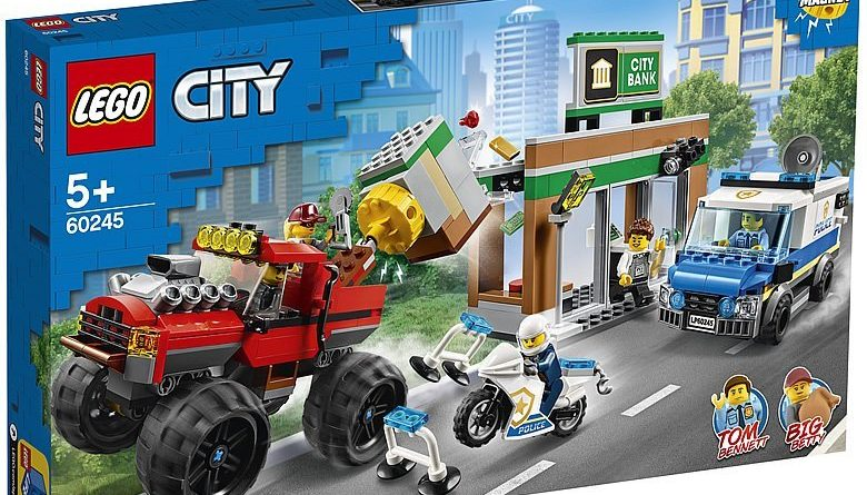 LEGO City 60245 Police Monster Truck Heist 1 780x445