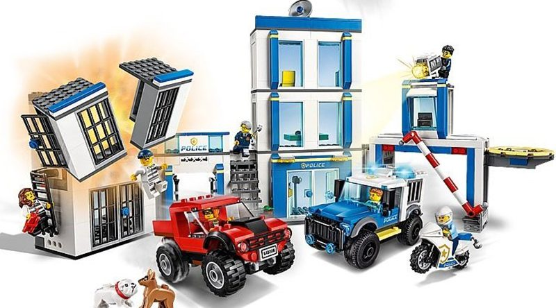 LEGO City 60246 Police Station featured 800 445