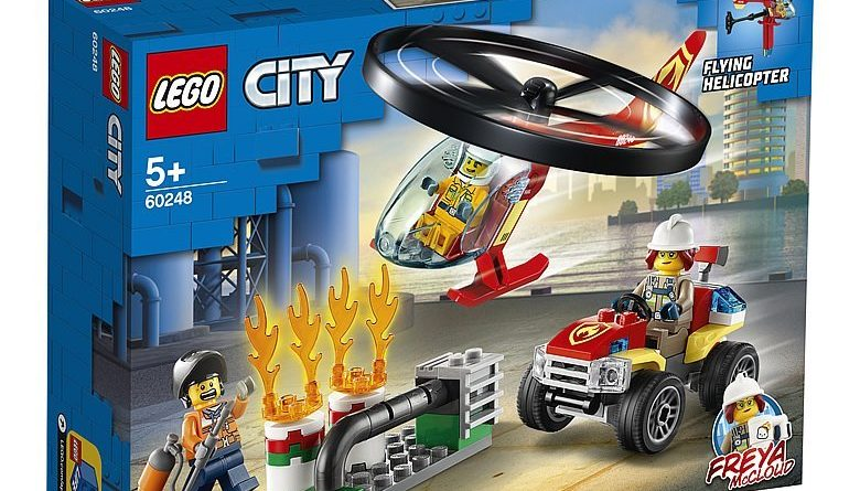 LEGO City 60248 Fire Response Helicopter 1 780x445