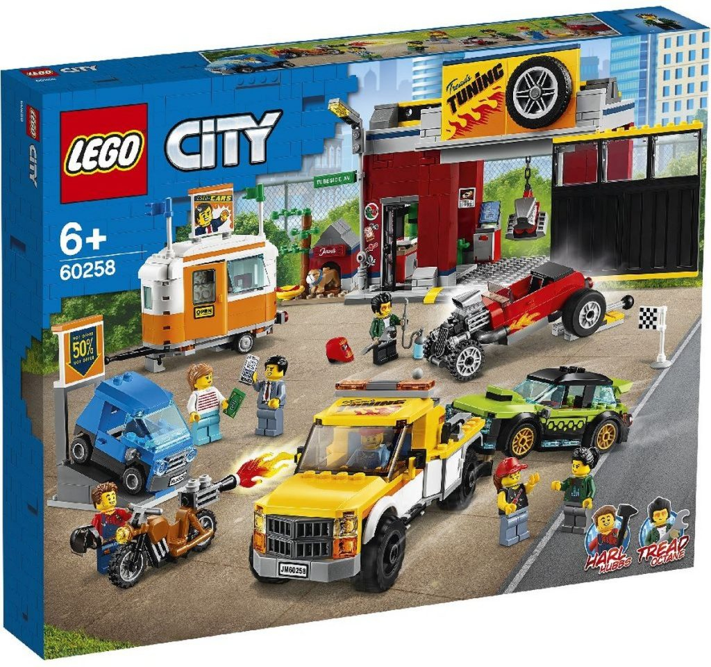 LEGO City 60258 Tuning Workshop 1 1024x960