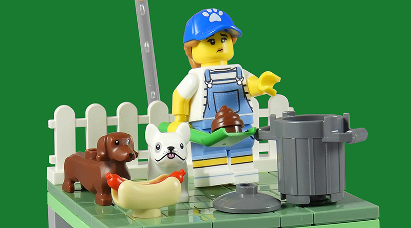 LEGO Collectible Minifigures Dog Sitter Featured 800 445