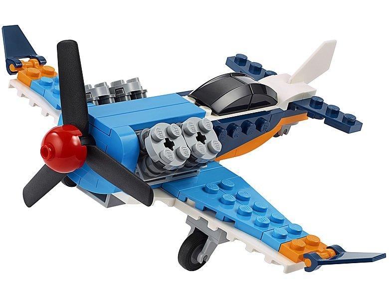LEGO-Creator-31099-Propellor-Plane-5
