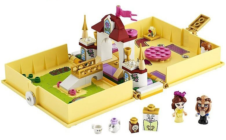 LEGO-Disney-43177-Beauty-and-the-Beast-Storybook-Adventures-32
