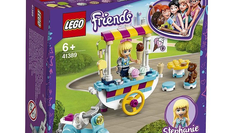 LEGO Friends 41389 Stephanies Mobile Ice Cream Cart 1 780x445