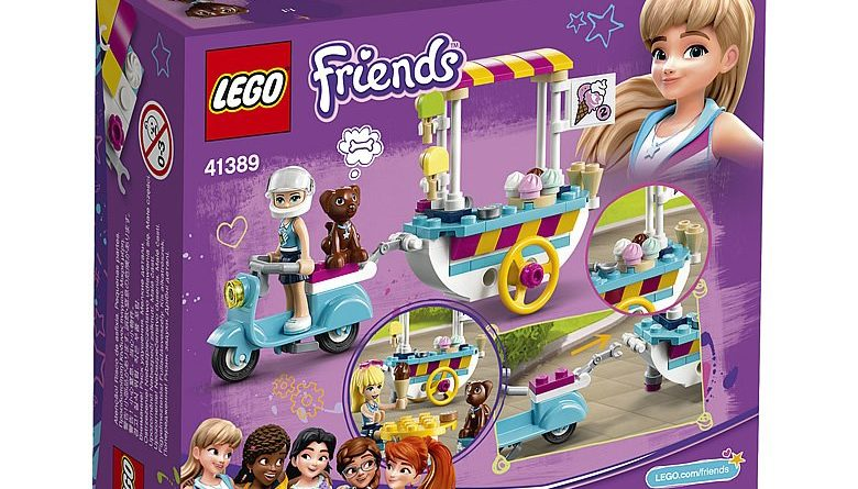 LEGO Friends 41389 Stephanies Mobile Ice Cream Cart 2 780x445