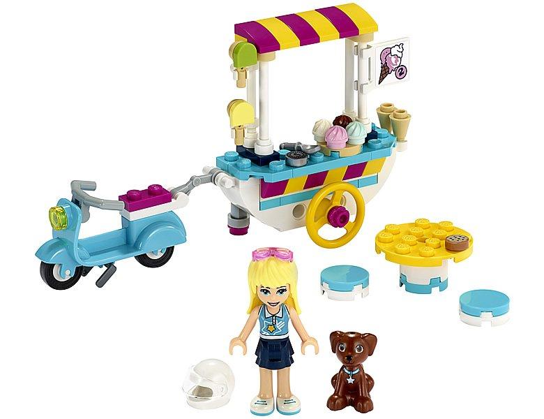LEGO Friends 41389 Stephanies Mobile Ice Cream Cart 3