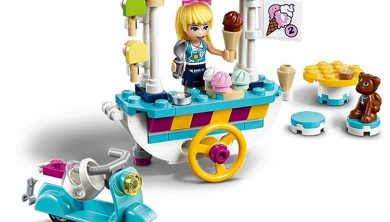 LEGO Friends 41389 Stephanies Mobile Ice Cream Cart 4 780x445