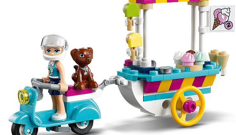 LEGO Friends 41389 Stephanies Mobile Ice Cream Cart 6 780x445
