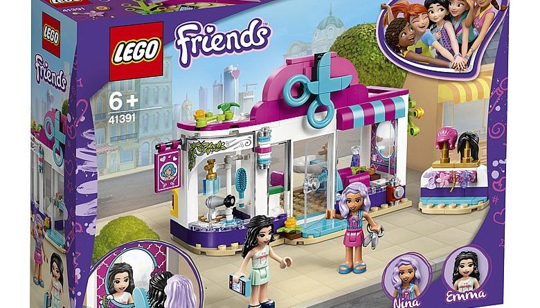 LEGO Friends 41391 Heartlake City Hair Salon 1 780x445