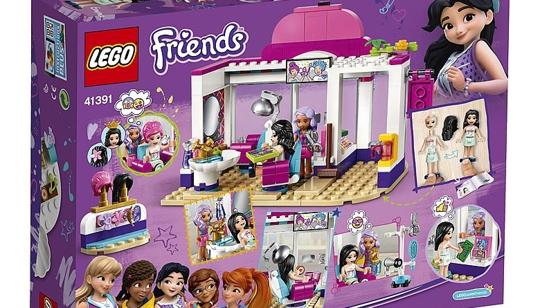 LEGO Friends 41391 Heartlake City Hair Salon 2 780x445