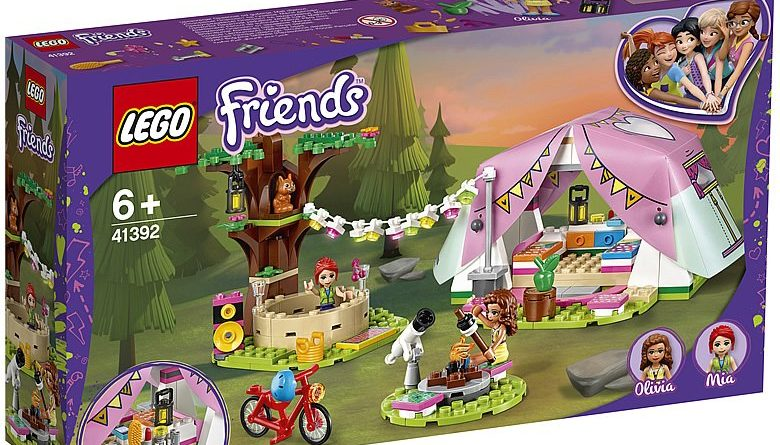 LEGO Friends 41392 Nature Camping 1 780x445