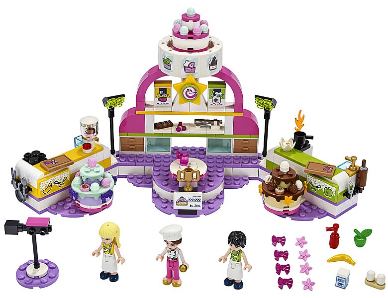 LEGO Friends 41393 Baking Competition 34