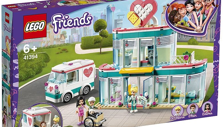 LEGO Friends 41394 Heartlake City Hospital 1 780x445