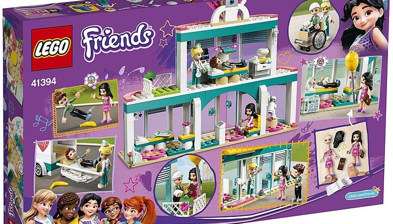 LEGO Friends 41394 Heartlake City Hospital 2 780x445