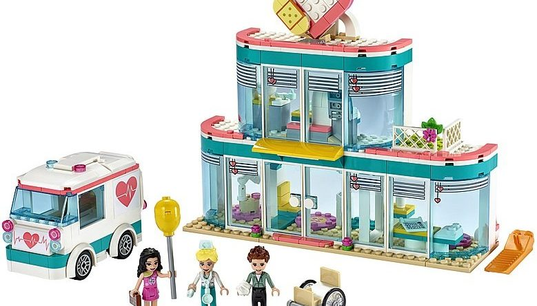 LEGO Friends 41394 Heartlake City Hospital 3 779x445