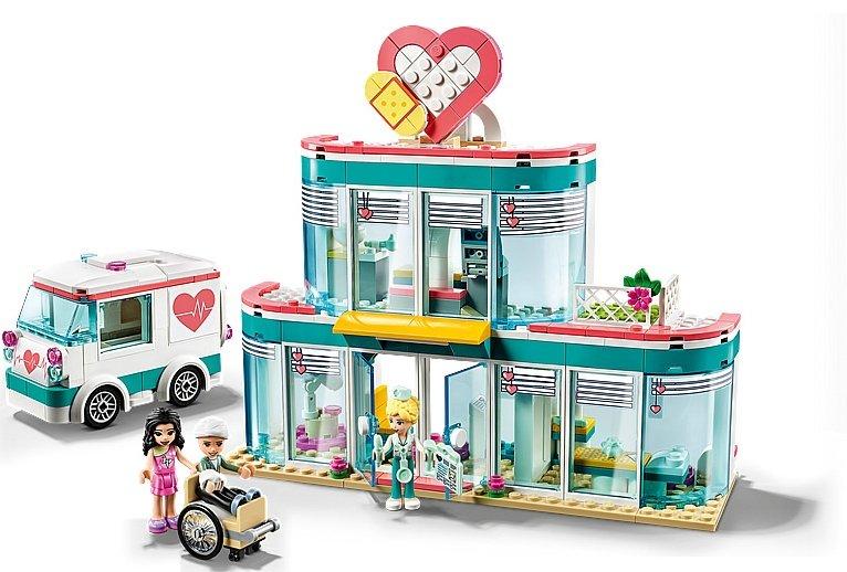 LEGO Friends 41394 Heartlake City Hospital 4