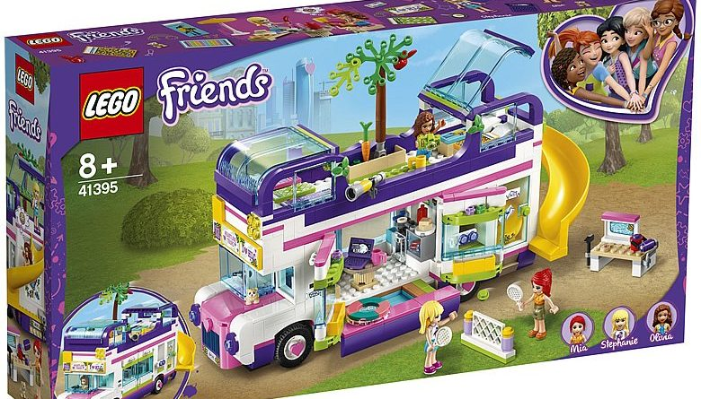 LEGO Friends 41395 Friendshipo Bus 780x445