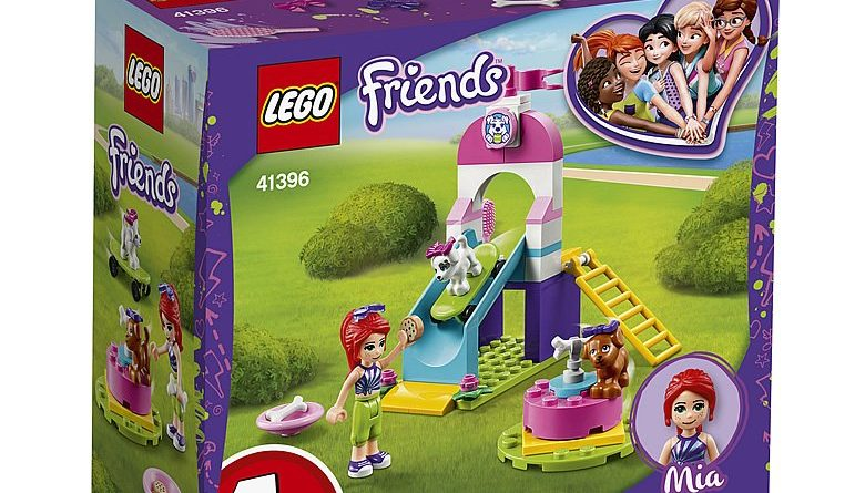 LEGO Friends 41396 Puppy Playground 1 780x445