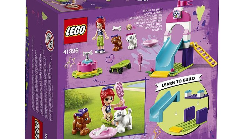 LEGO Friends 41396 Puppy Playground 2 780x445